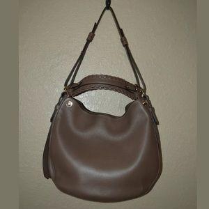 New Givenchy Large Brown Shoulder Bucket Handbag